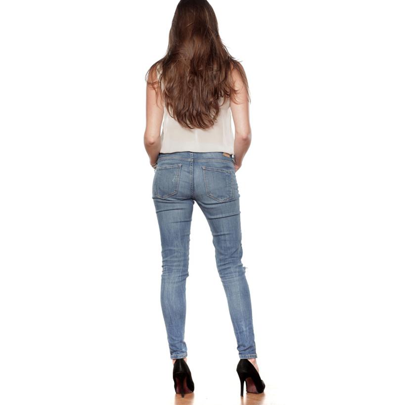 BlackLine Bluse, transparent
